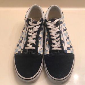 Vans Old Skool Blue Checkboard